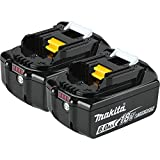 Makita BL1860B-2 18V LXT Lithium-Ion 6.0 Ah Battery (2 Pack)