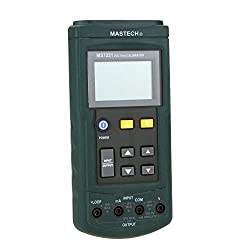 MASTECH MS7221 Voltage Current Calibrator DC Current Loop/DC Voltage Tester
