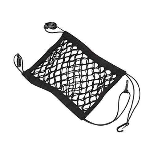 jieGorge Car Barrier Seat Net Organizer 1pcs Universal Stretchy Auto Backseat Storage, Housekeeping & Organizers, Products for Xmas Day (B)