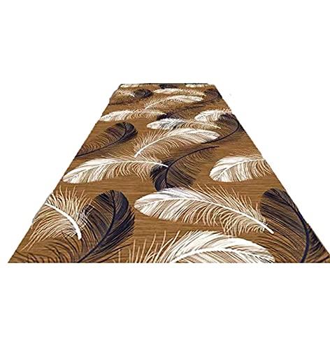 ditan XIAWU Bereich Teppich Halle Treppe Wohnzimmer Zuhause Kann Geschnitten Werden rutschfest (Color : A, Size : 100x560cm)