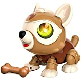 GRJKZYAM DIY Robot Toy Robot Dog & Animals Toy Smart Puppy Interactive Juguetes educativos Inteligentes para niños de 3 a 6 años,Assembled