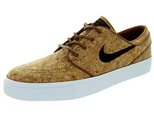 Nike Zoom Stefan Janoski Elite, Zapatillas de Skateboarding, Marrón (Ale Brown/Black-White), 35.5 EU