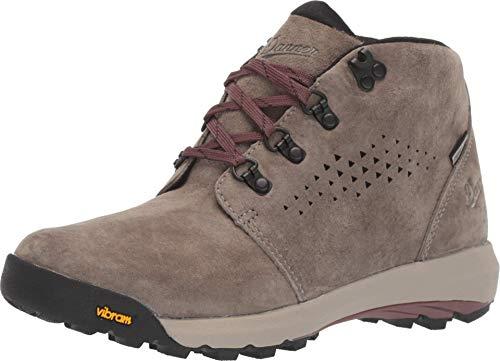 """Danner Women's 64501 Inquire Chukka 4"""" Waterproof Lifestyle Boot, Gray/Plum - 8.5 M"""