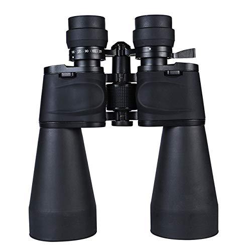 Yqs Prismáticos Nueva 20-180X100 de Alta Potencia de Zoom telefoto 9-27 Horas for Cazar al Aire Libre telescopio binoculares Viaje Zoom de Alta definición Profesional (Color : 20 180x100)