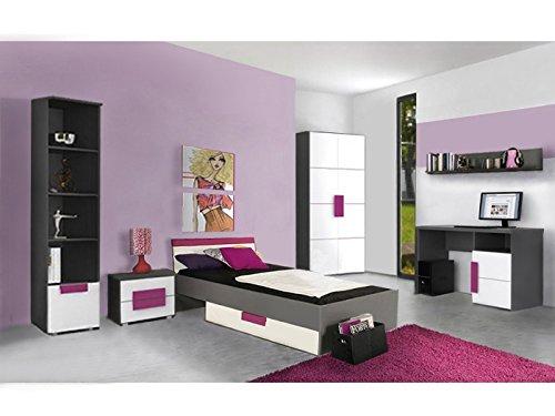 Jugendzimmer Libelle Komplett Verschiedene Ausführungen Kinderzimmer Möbel (Jugendzimmer Libelle 7tlg)