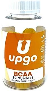 UpGo Supplements BCAA Gummies Amino Acid Supplement, 30 Count