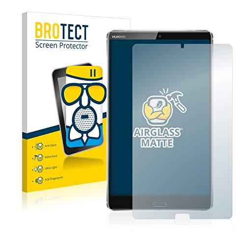 BROTECT Entspiegelungs-Panzerglasfolie kompatibel mit Huawei MediaPad M5 8.4 - Anti-Reflex Panzerglas Schutz-Folie Matt