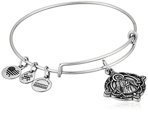 Alex and Ani Jesus EWB Rafaelian Silver Bangle Bracelet