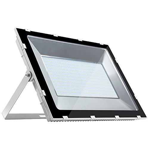 Ankishi 500W LED Strahler Außenstrahler,50000LM Fluter Flutlicht,6000K Kalteweiß LED Scheinwerfer,IP65 Wasserfest LED Fluter,Gartenlampe Wegeleuchte Wandstrahler Leuchtmittel