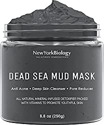 Mud mask for deep cleansing