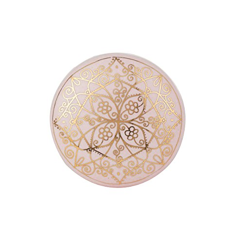 Set of 6 Pink Ceramic knobs or pulls for cabinets, Dressers and Drawers (6)