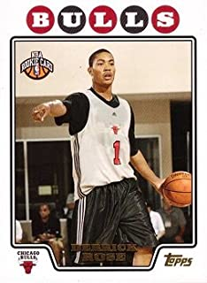 2008-09 Topps Basketball Gold Foil #196 Derrick Rose Rookie Card