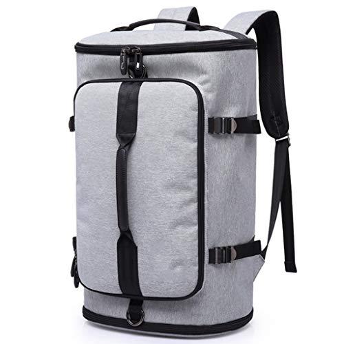 ZhuFengshop Mochila Mochila de alpinismo for hombres y mujeres de 50L mochila de viaje de gran capacidad Mochila de viaje, mochila de ordenador de hombro for hombre Mochila impermeable Aire libre, Via