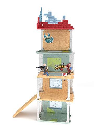 Fortnite 63511 Battle Royale Collection Mega Fort y 2 figuras exclusivas de Tricera Ops y Blue Squire, multicolor… 4