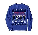Panda in Santa Hat - Funny Ugly Christmas Panda Claus Sweatshirt
