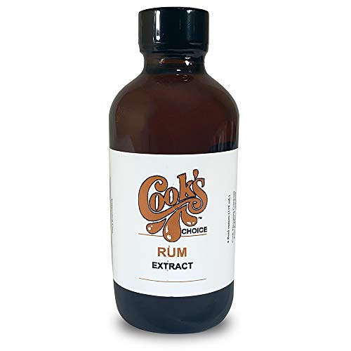 Cook's Choice Pure Rum Extract, 4 oz