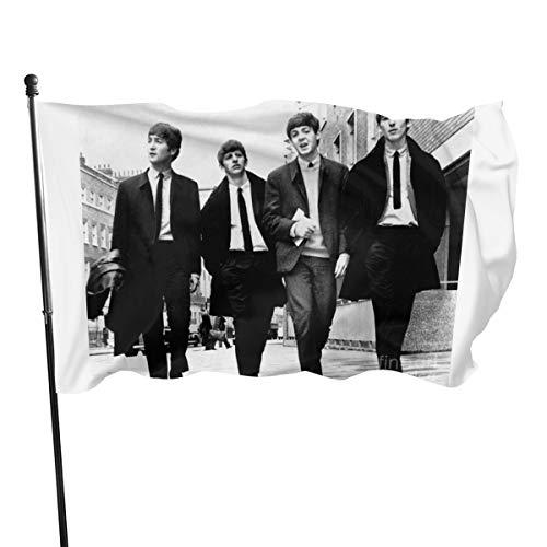 N/ The Beatles Kunstdruck Flagge Banner Flaggen, 91 x 152 cm