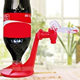 Xelparucoutdoor Dispensador de botellas de Cola de Coca-Cola al revés, fuente de bebida, interruptor de presión