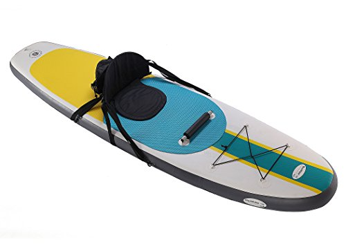 Product Image 12: 10' Inflatable Stand Up Paddle Board / Kayak And SUP! (6 Inches Thick, 32 Inch Wide Stance Width) |11-Piece Accessory Set That Includes Convertible Paddle, Kayak Seat, Travel Backpack, And More!