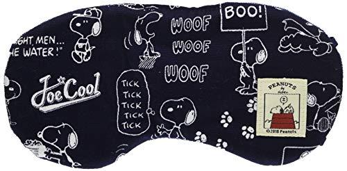 バンガード アイマスク (快適 安眠 タオル地 仕様) ネイビー (かわいい キャラクター スヌーピー ドッグハウス シリーズ) (かわいい キャラクター スヌーピー ドッグハウス シリーズ)