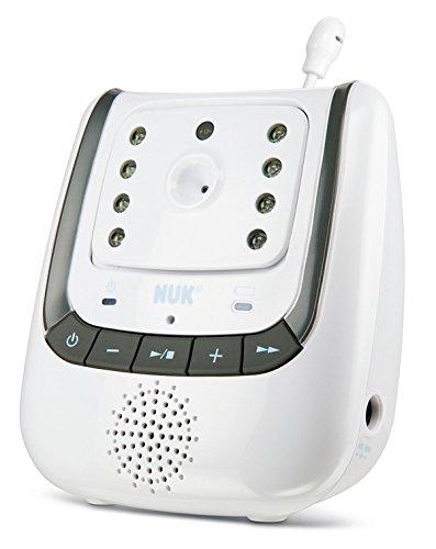NUK Babyphone mit Kamera Eco Control+ Video, mit Gegensprechfunktion & Temperatursensor, frei von hochfrequenter Strahlung im Eco-Mode - 3