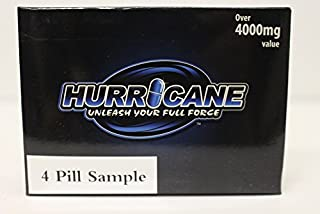 HURRICANE, Unleash your full force! Top rated male enhancement, testosterone booster, (from the guys who brought you Xtrahrd and Hapenis). (4 Pill) …