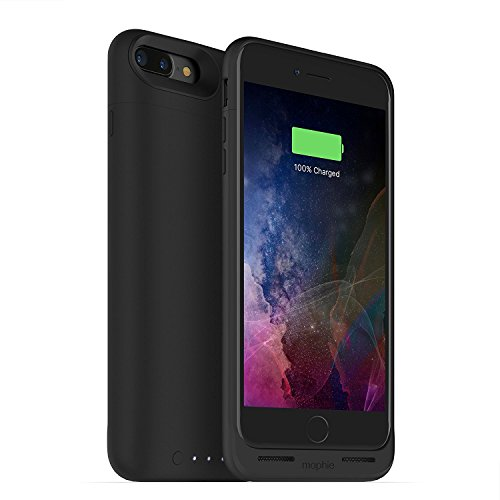 mophie juice pack wireless - Charge Force Wireless Power - Wireless Charging Protective Battery Pack Case for iPhone 7 Plus - Black (Renewed) (Black)