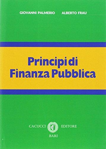 Principi di finanza pubblica