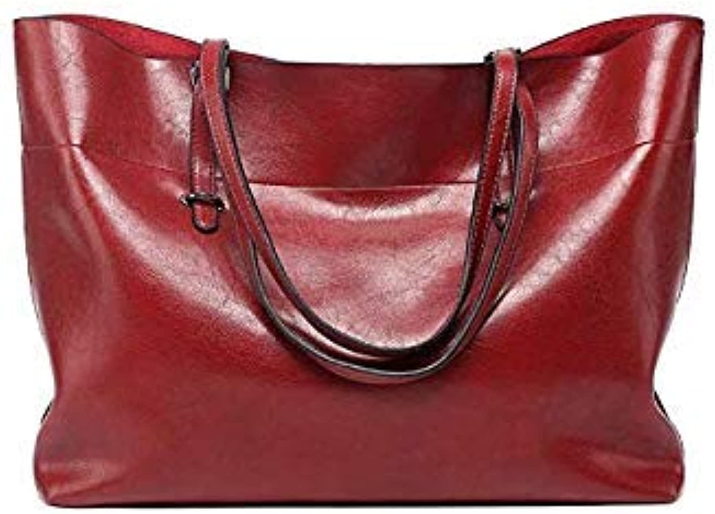 Bloomerang Seven Skin Brand Women Shoulder Bags Fashion Designer Woman Bag High Quality PU Leather Handbag Female Solid Top-Handle Tote Bag color Wine Red