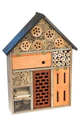 MAZUR International Insektenhotel Insektenhaus Nistkasten Brutkasten Insekten Bienen I21M