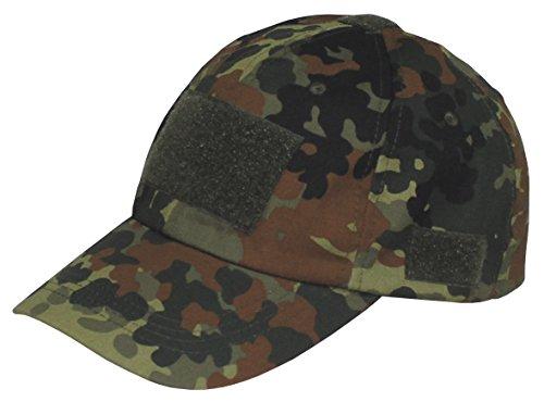 Einsatz-Cap Baseball Cap mit Klett für Patches Einheitsgröße viele Farben