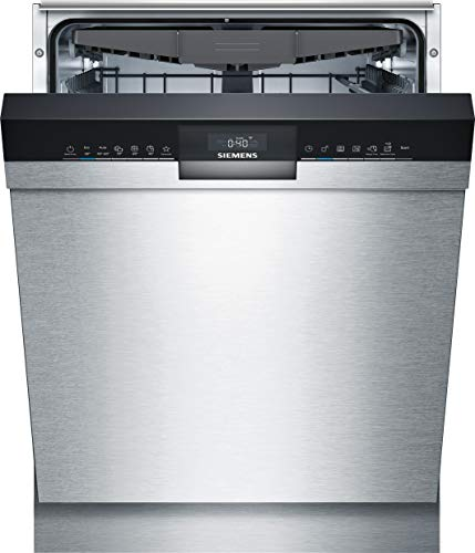 Siemens SN43HS60CE iQ300 Unterbau-Geschirrspüler/A++ / 266 kWh/Jahr / 2660 L/Jahr/WLAN-Fähig über Home Connect/varioSpeed Plus/varioSchublade, Edelstahl