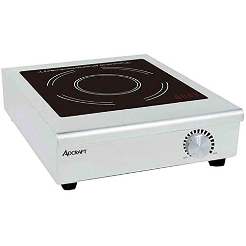 Adcraft IND-C208V Manual Countertop Induction Cooker, Stainless Steel, 208v, Silver