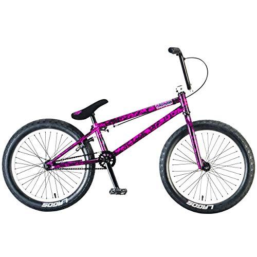Mafiabikes 20 Zoll BMX Bike MADMAIN Verschiedene Farbvarianten Harry Main (Purple Splatter)