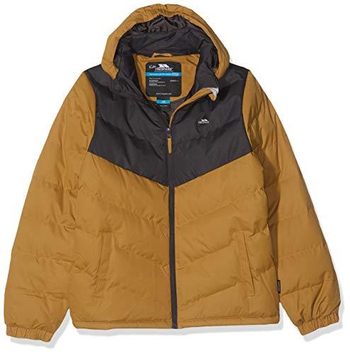 Trespass Luddi Warm Padded Waterproof Winter Blouson Enfant, grès, Size 13