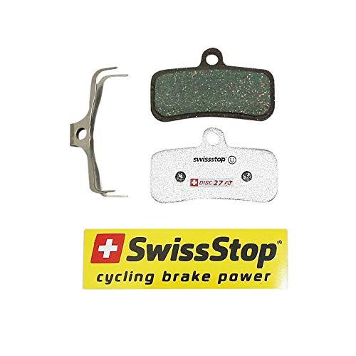 Swiss Stop Pastiglie da Freno Mountain Bike e VAE per Shimano XTR m9120, XT m8020, San m820-m810, Zee m640-mt520, Trp Quadiem, Tektro m750-m7