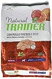 Natural Trainer Trainer Natural Medium Pollo Riso kg. 3 Cibo Secco per Cani, Multicolore, ...