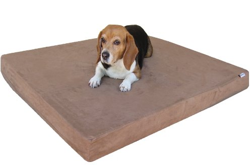 Best Orthopedic Dog Bed for Arthritis - Dogbed4less Memory Foam Dog Bed