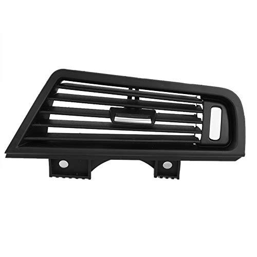 KIMISS ABS lado derecho del aire acondicionado del coche rejilla de ventilación Panel de salida apto para 5 series F10 F18 6229166884 (negro)