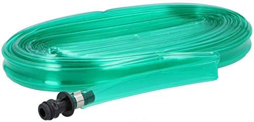 Tubo Piatto Microforato Triploforato per Irrigazione Giardino Piante Orto Esterno con Connettore Kinzo (25 Metri)