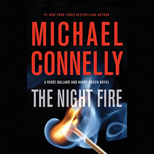 The Night Fire audiobook cover art