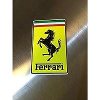 フェラーリ オフィシャル ステッカー S 長方形 Ferrari OFFICIAL 正規品