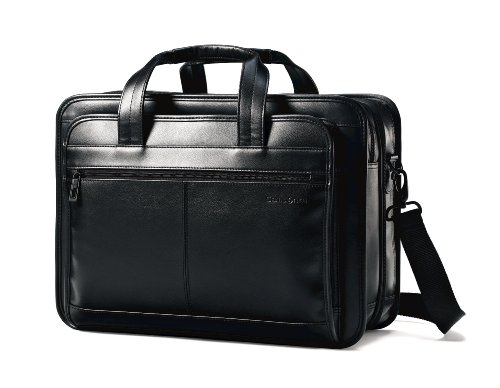 Samsonite Leather Expandable Bri...