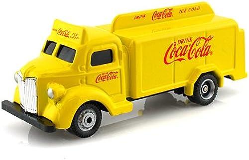1947 Coca Cola Bottle Truck Camion Transporteur de Bouteilles 1 87 Gelb