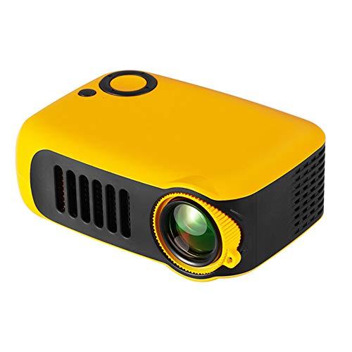 Proyector Mini proyector portátil proyector de Video LED, Compatible con Fire TV Stick / PS4 / USB / HDMI / SD / AV, Compatible con teléfono Inteligente HDMI PC portátil USB Mini proyector HD