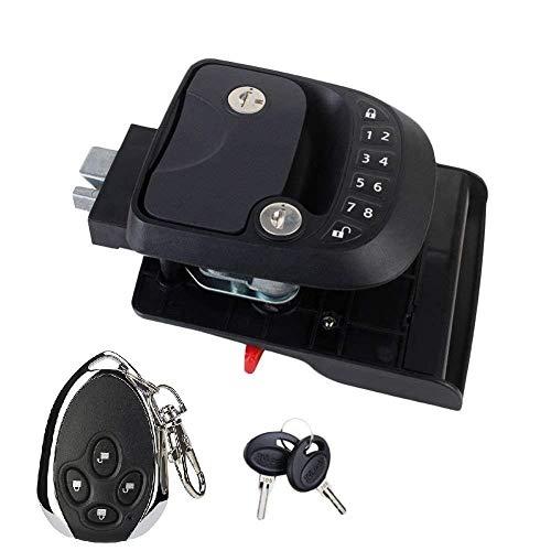 LULIJP RV Key Lock Fob y RH Compacto sin Llave Teclado de Entrada, RV/Quinta Rueda de Bloqueo Accesorios