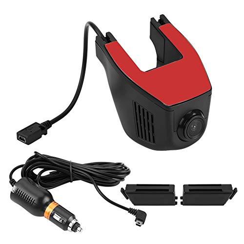 Yctze Car DVR Recorder, WiFi Full HD 1080P Car DVR Video Recorder Cámara de Rodadura Grabador de conducción