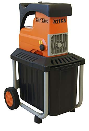 ATIKA LHF 2800 Leise-Walzenhäcksler Gartenhäcksler Elektrohäcksler Schredder | 230V | 2800W