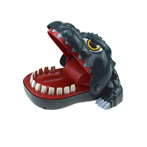 Jsmhh Kinder-Biting-Finger-Spielzeug-Dinosaurier-Zähne beißen Game Party-Streich-Spielzeug Kunststoff-Biting Finger Witz-Spielzeug for Partei-Stab-Startseite