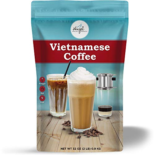 Vietnamese Coffee Instant 3-in-1 Mix by Angel Specialty Products [2 LB]